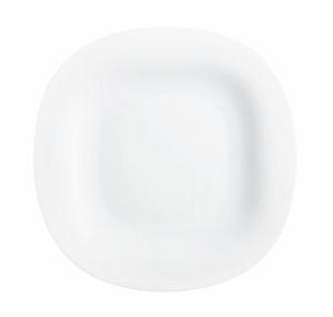 Krožnik Carine, desertni, bel 19 cm, L4454