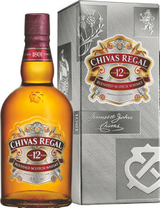 Whiskey Chivas, alk.40 vol%, 1l