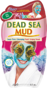 Maska 7th heaven, Dead sea mud pac, 20g