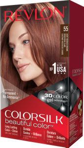 Barva za lase Revlon, colorsilk, 55