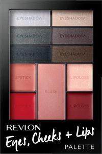 Paleta Revlon, eyes+che+lips, Seduc.smokies