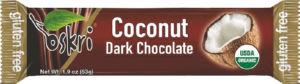 Rezina Bio Oskri, kokos s temno čokolado, 53g