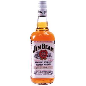 Whisky Jim Beam White, Bour., alk.40 vol%, 1l