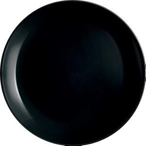 Krožnik Diwali A., desertni, črn, 19cm