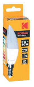 Sijalka Led Kodak warm E14, 6W