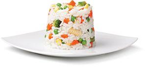Priloga riž in zelenjava