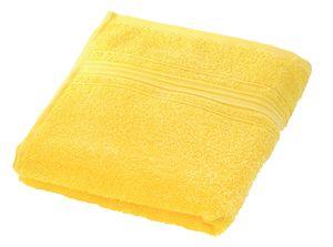 Brisača Decoris, rumena, 50x100cm