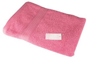 Brisača Decoris, roza, 70x140cm
