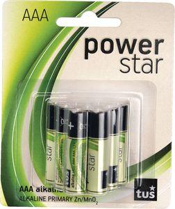Baterijski vložki Tuš, Power star, AAA, 9/1