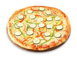 Družinska pizza Zelenjavna