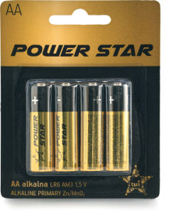 Baterije Power Star, AA, AAA