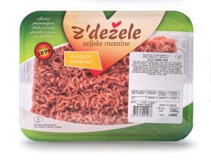 Mleto meso, mešano, pakirano