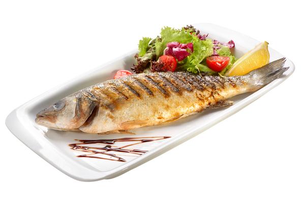 Pečena morska riba (orada ali brancin)
