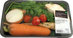 Zelenjava za domačo juho