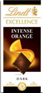 Čokolada Lindt, Excell.,temna,oragne, 100g