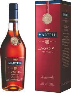 Konjak Martell, vsop, alk.40 vol%, 0,7l