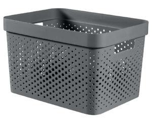 Škatla za shranjevanje Infinity, perforirana, 17l