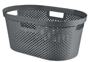 Košara za perilo Infinity recycled 39l, siva