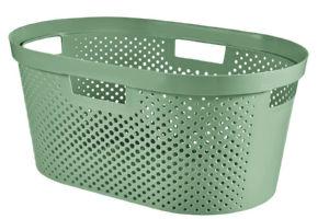 Košara za perilo Infinity recycled 39l, zelena
