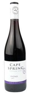 Vino C.Spring pinotage, alk. 14 vol %, 0,75