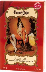 Kana Henne color, franc.mahagoni, 100g