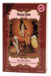Kana Henne color, rdeče rjava, 100g