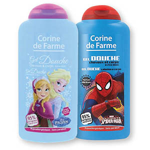 Tuš gel H&B Spiderman, za deklice, 250ml