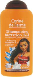 Šampon za lase Corine de Farme, Nutritive Vaiana 2v1, 250ml