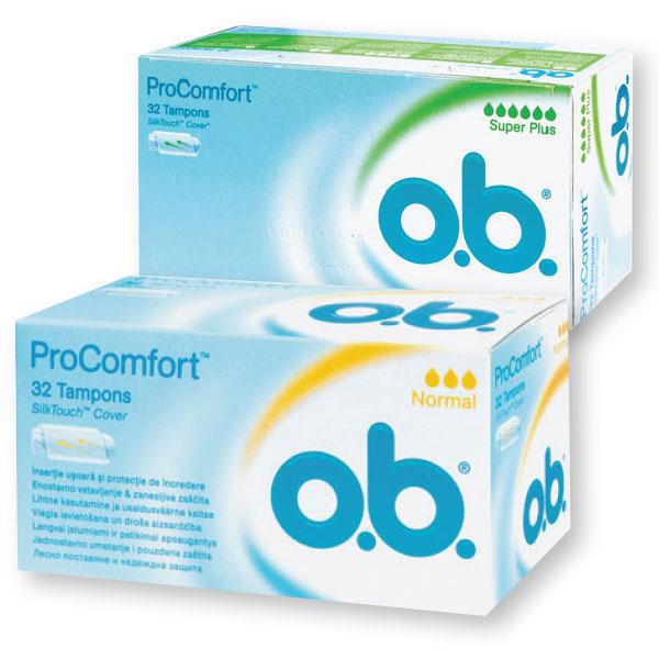 Tamponi O.B. Pro-comfort, normal, 32/1