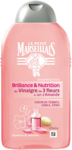 Šampon L.P.Marseiliais, kis 3 cvetov, 250 ml
