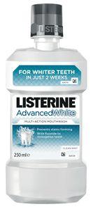 Ustna voda Listerine, advanced wh., 250ml
