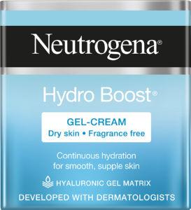 Gel krema za obraz Neutrogena, Hydra boost – suha koža, 50 ml