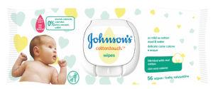 Robčki Johnson's, vlaž., Cotton touch, 56/1