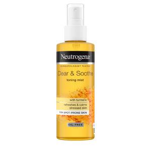 Tonik Neutrogena, Clear & Soothe, v pršilu, 125 ml