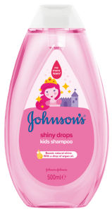 Šampon Johnson's, Shiny drops, 500ml