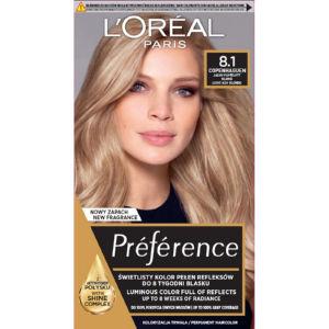 Barva za lase L'Oreal Preference, 8.1