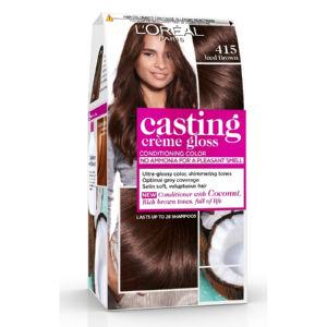 Barva za lase Casting gloss, 415, led.kostanj