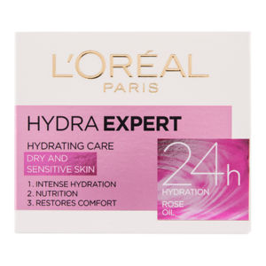 Krema L'oreal, Hydra expert, dnevna za suho kožo, 50 ml