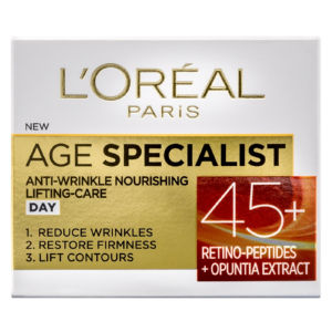 Krema za obraz L'Oreal, Age Specialist 45+, dnevna, 50 ml