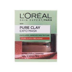 Maska L'oreal, Pure Clay, Clarify, 50ml