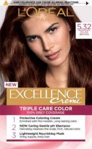 Barva za lase L'Oreal Excellence 5.32