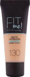 Puder Maybelline, tekoči, Fit me m&p, 130