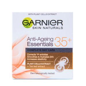 Krema za obraz Garnier Anti-Ageing Essentials proti gubam dnevna 35+,50ml