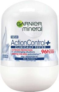 Dezodorant Roll-on Garnier, Woman action control, 50ml