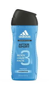 Tuš gel Adidas, H&B, after sport, 250ml