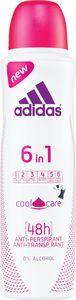 Dezodorant Adidas, anti-persp., 6v1, 150ml