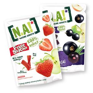 Sadni snack N.A!, 35/40g, več okusov