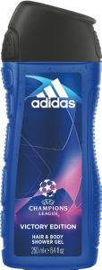 Gel za prhanje Adidas, Uefa moški, 250ml