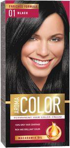 Barva za lase Aroma, color, 01 črna
