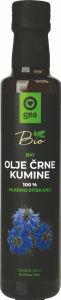 Olje Bio Gea, črna kumina, 0,25l